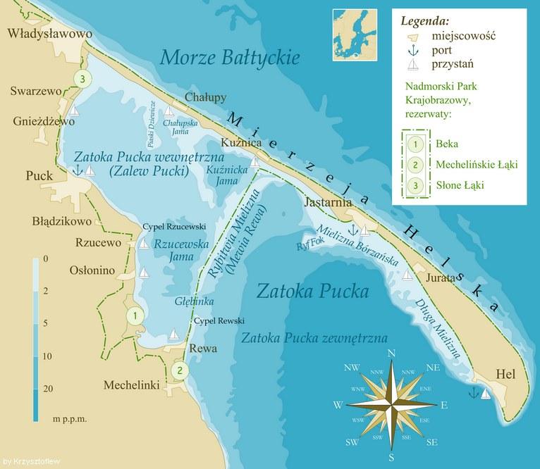 Trójmiasto i okolice wraz z Półwyspem Helskim mają wiele do zaoferowania! /Wikimedia Commons /domena publiczna