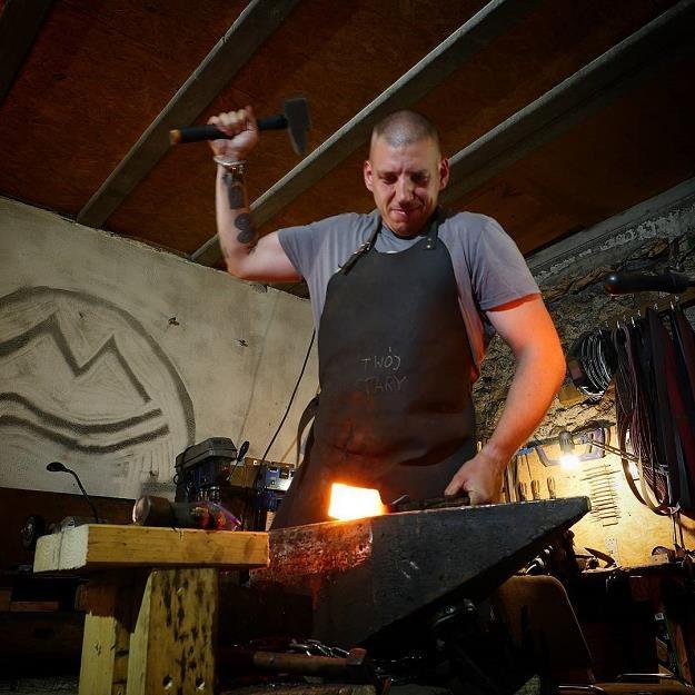 """""""Trollsky"""". Fot. Michał Sielicki (https://www.instagram.com/trollsky_knives/) /"""