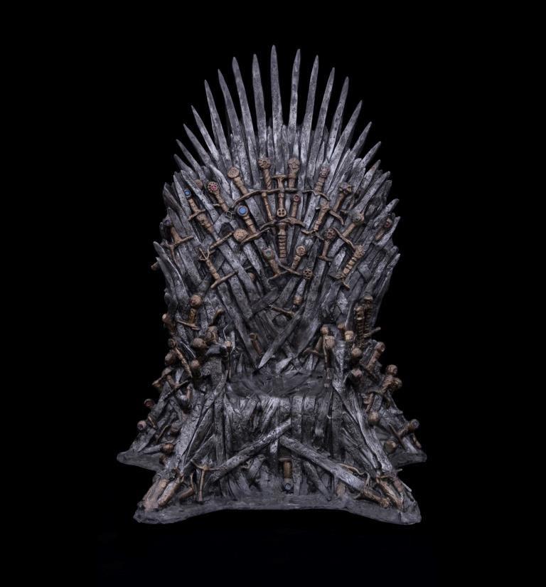 "Tron z serialu ""Gra o tron"" /HBO"