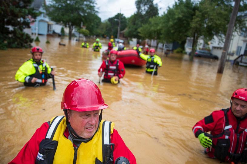 Tropikalna burza Henry /TOM BRENNER/AFP/East News /East News