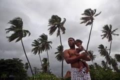 Tropikalny sztorm Isaac u wybrzeży Dominikany