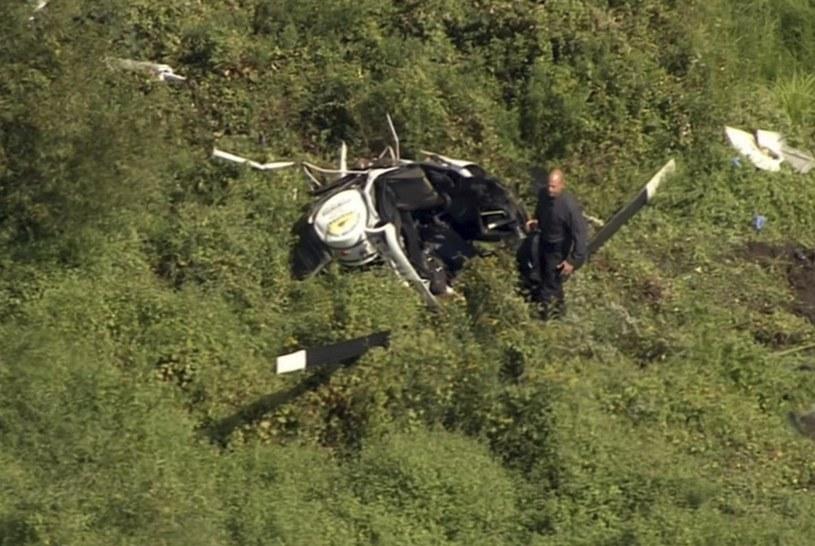 Troy Gentry zginął w tragicznym wypadku helikoptera /AP/NBC10 Philadelphia /East News