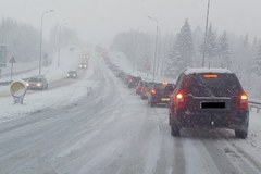 Trudna sytuacja na drogach na Podkarpaciu i Lubelszczyźnie
