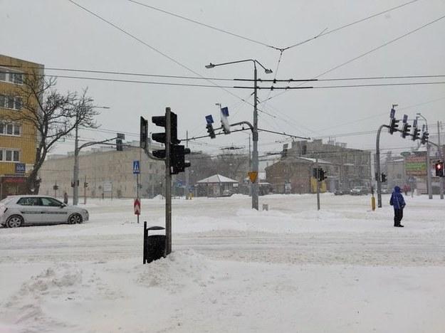 Trudne warunki i poranku w Lublinie /Gorąca Linia RMF FM