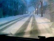Trudne warunki na śląskich trasach