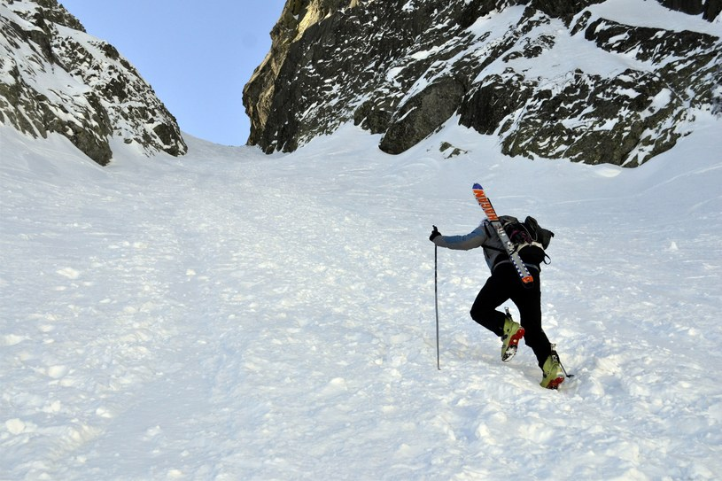 Trudne warunki na szlakach w Tatrach /Albin Marciniak /East News