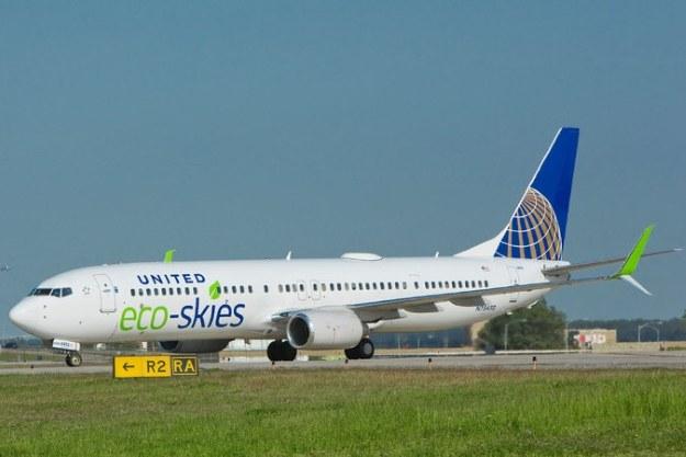 Trudno będzie zastąpić tradycyjne paliwo lotnicze. Fot. United Airlines /materiały prasowe