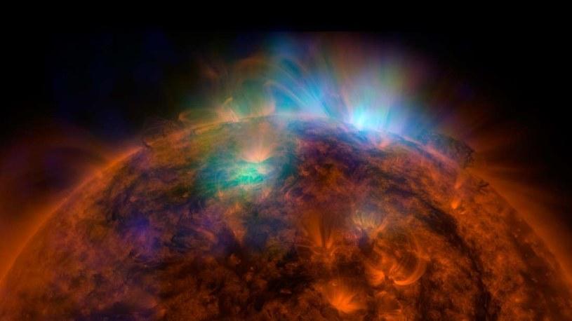 Trudno dokładnie oszacować wielkość Słońca /NASA