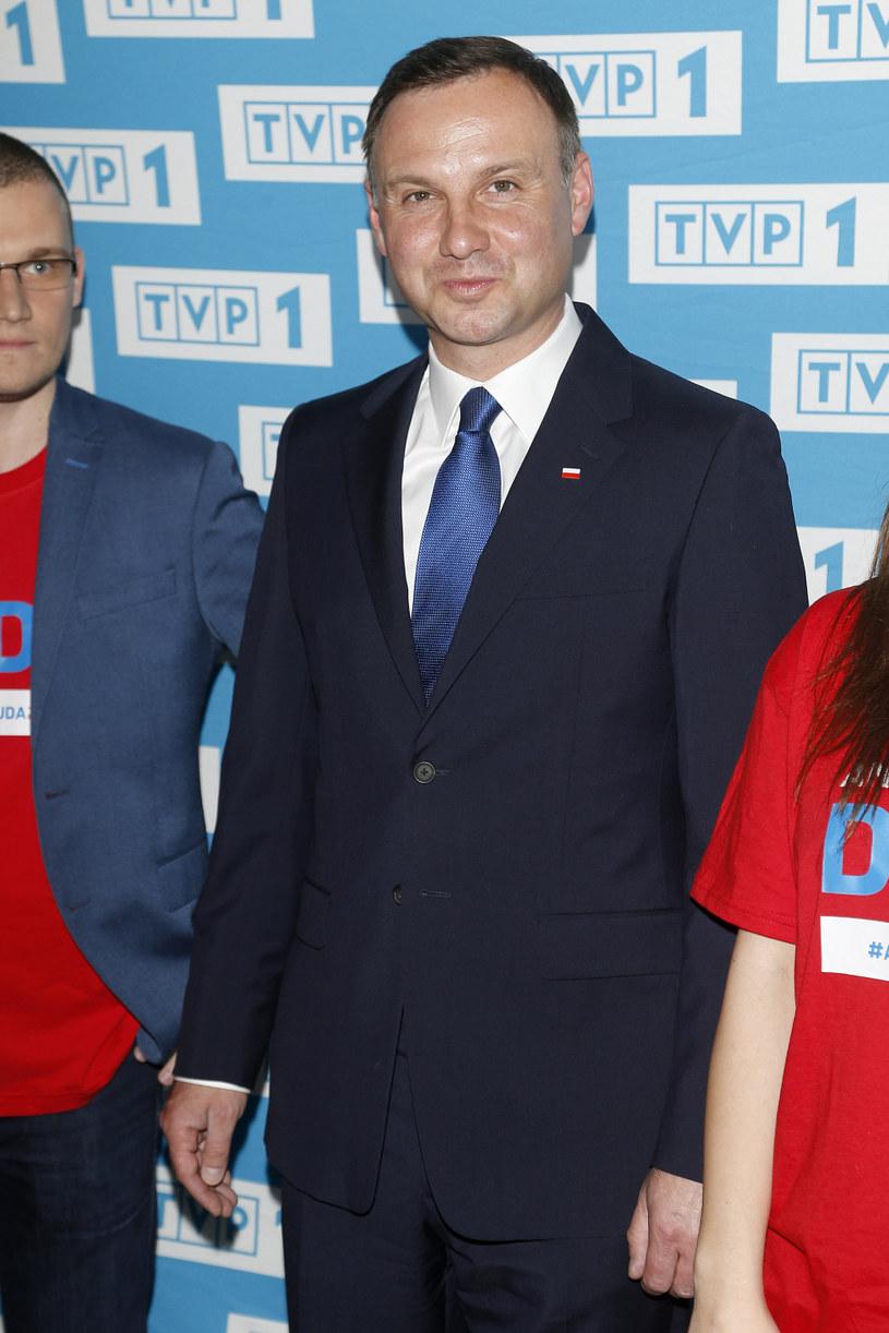 Trudno oszacować, ile dokładnie przytył prezydent /Podlewski /AKPA