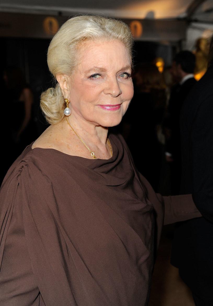 Trudno w to uwierzyć, bo tyle ma w sobie werwy i wigoru, że w tym roku Lauren skończy 87 lat!  /Getty Images/Flash Press Media
