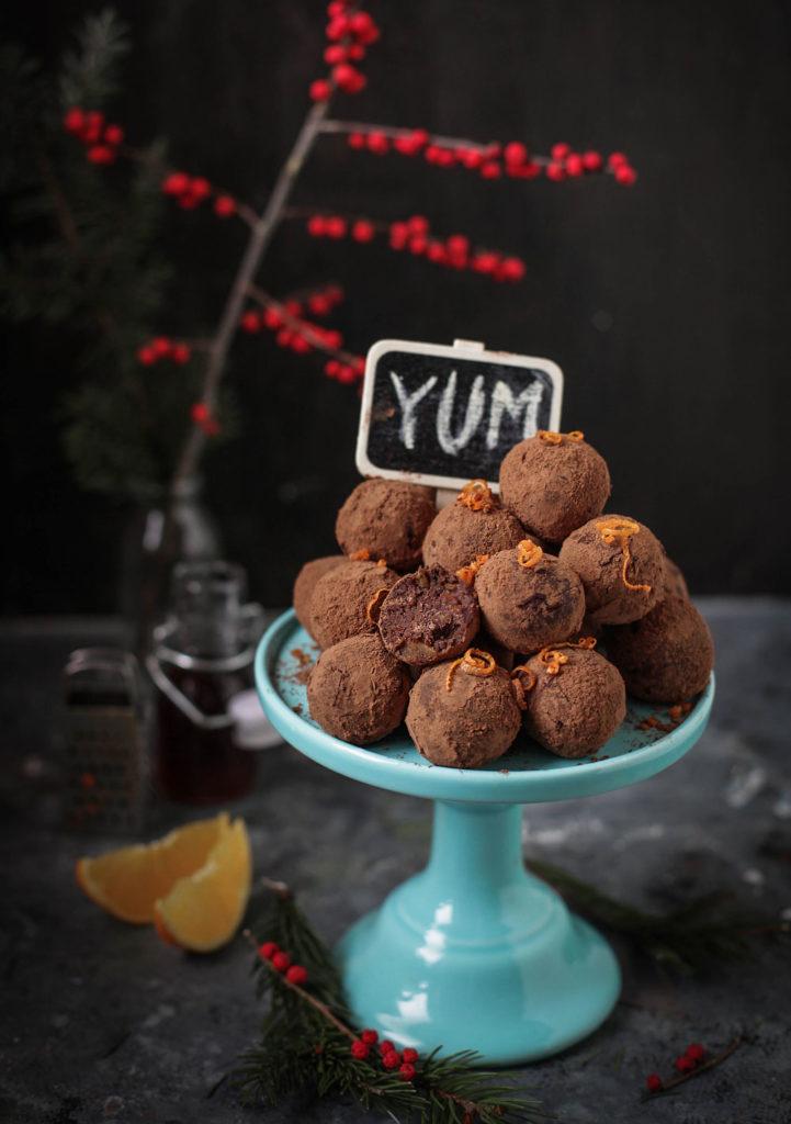 Trufle czekoladowe /materiały prasowe