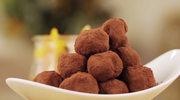 Trufle z gorzkiej czekolady z likierem Cointreau