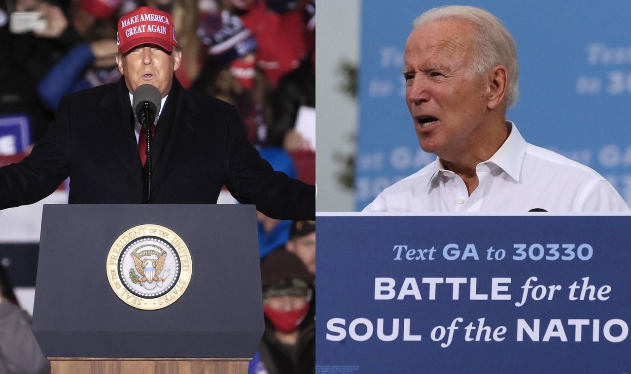 Trump: is Biden