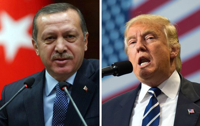 Trump i Erdogan rozmawiali o walce z terroryzmem /ADEM ALTAN /DON EMMERT /AFP
