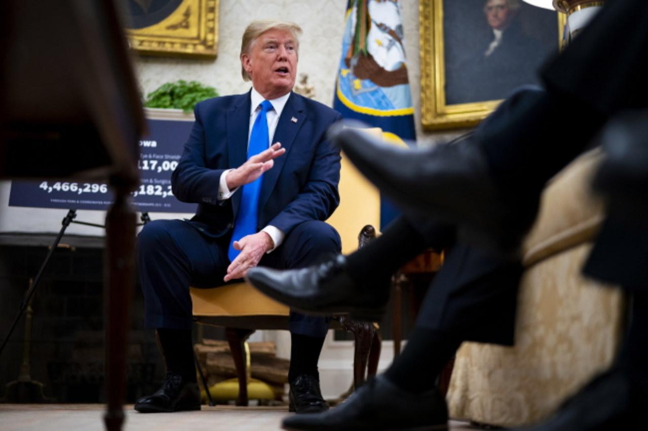 Trump i Pence po testach na koronawirusa. Mieli kontakt z zakażonym wojskowym
