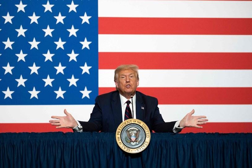 Trump osłabia dolara /AFP