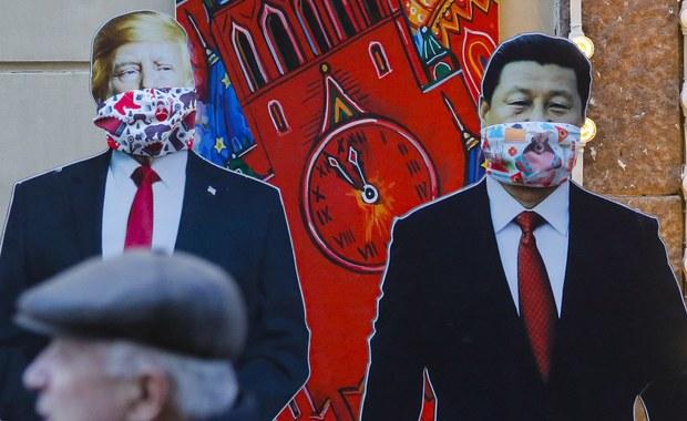 """Trump rozmawiał z Xi o koronawirusie. """"Blisko razem współpracujemy"""""""