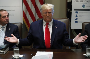 Trump: To oczywiste, że Izba Reprezentantów poprze impeachment
