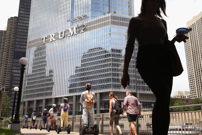 Trump Tower w Chicago /SCOTT OLSON / GETTY IMAGES NORTH AMERICA  /AFP