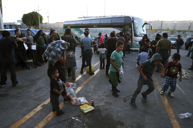 Trump zaostrzył przepisy migracyjne /AP Photo/Marco Ugarte /East News