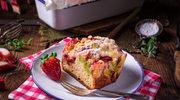 Truskawkowe ciasto z kruszonką