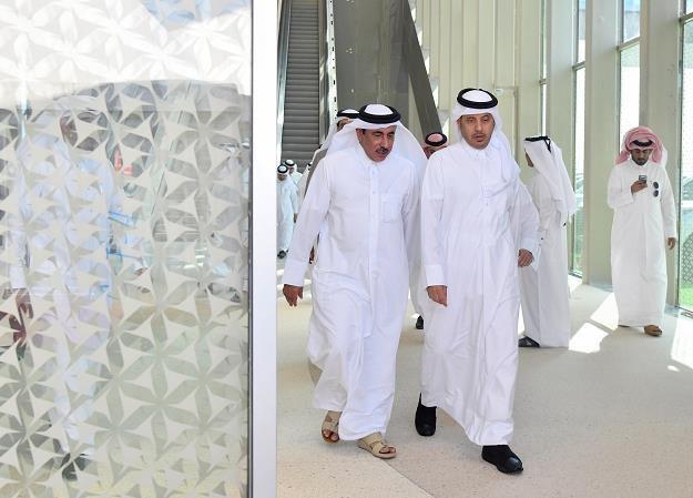 Trwa budowa metra w Dausze, stolicy Kataru  . Nz. inspekcja /EPA
