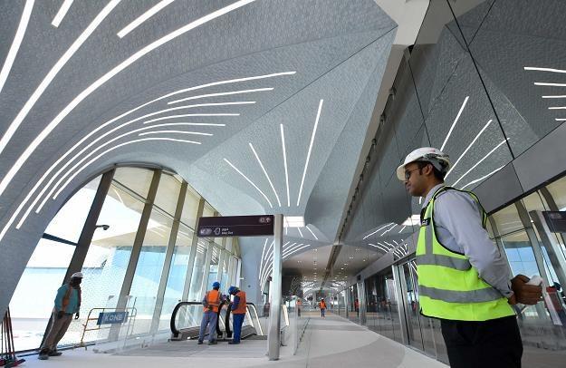 Trwa budowa metra w Dausze, stolicy Kataru /EPA