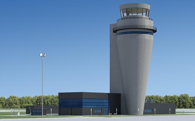 Trwa budowa najwyższej wieży kontrolnej w kraju /fot. blog.katowice-airport.com /Informacja prasowa