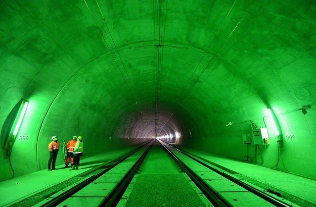 Trwa budowa tunelu Silberberg /EPA