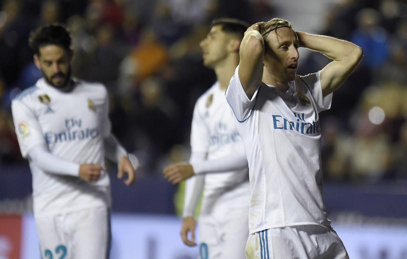 Trwa fatalna passa Realu Madryt /AFP