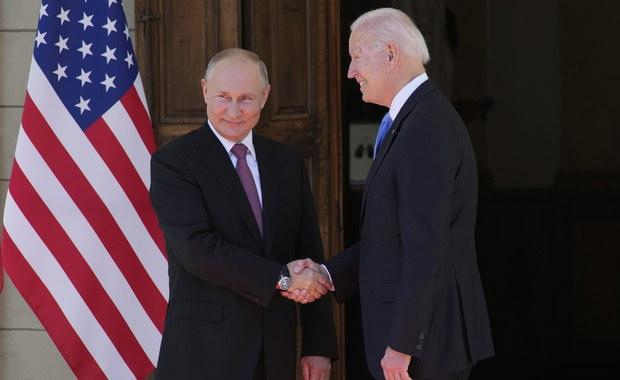Trwa historyczny szczyt Biden - Putin. Czy uda się ustabilizować relacje?
