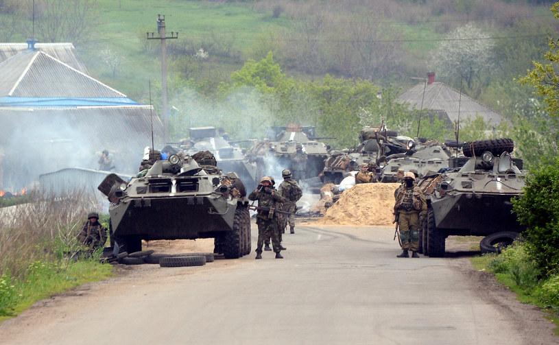 Trwa operacja na Ukrainie /AFP
