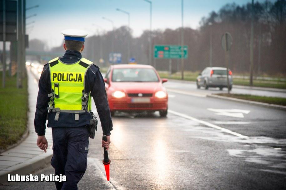 """Trwa policyjna akcja """"Prędkość"""" /Lubuska policja /Policja"""