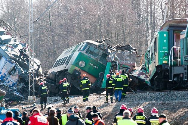 Trwa przeszukanie miejsca katastrofy/fot. G. Michałowski /PAP