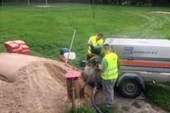 Trwa remont sali rehabilitacyjnej w domu dziecka w Olsztynie