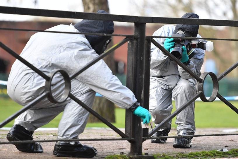 Trwa śledztwo w sprawie ataku na Skripalów /BEN STANSALL /AFP