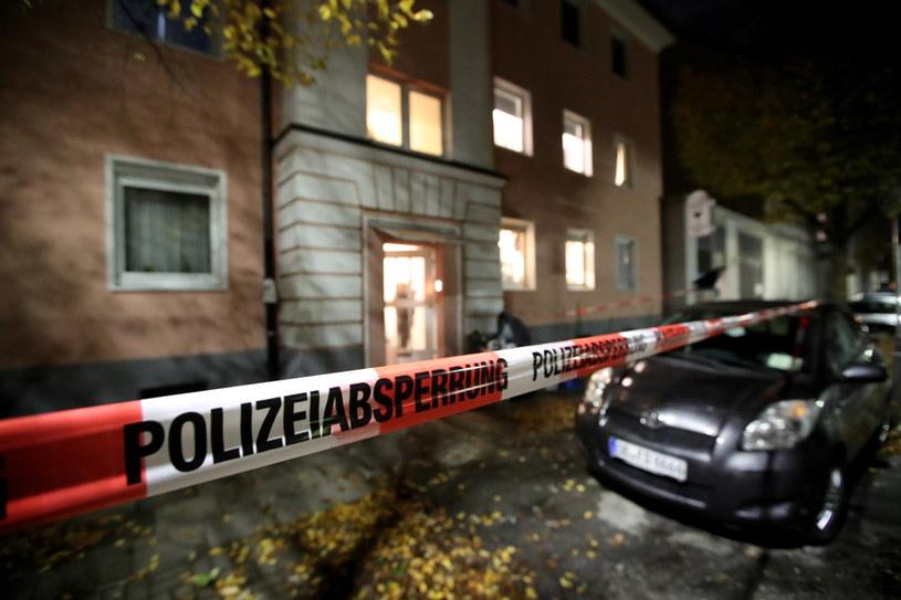 Trwa ślledztwo po po ataku nożownika w Oberhausen /Friedemann Vogel /PAP/EPA