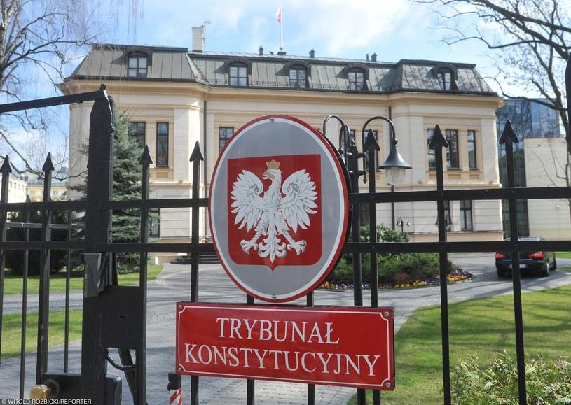 Trwa spór o Trybunał Konstytucyjny /Witold Rozbicki /Reporter