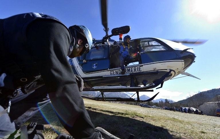 Trwa sprawdzanie przyczyn katastrofy lotu 9525 /Francis Pellier / MINISTERE DE L'INTERIEUR / AFP /AFP