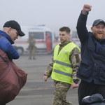 Trwa wymiana więźniów między Ukrainą a separatystami