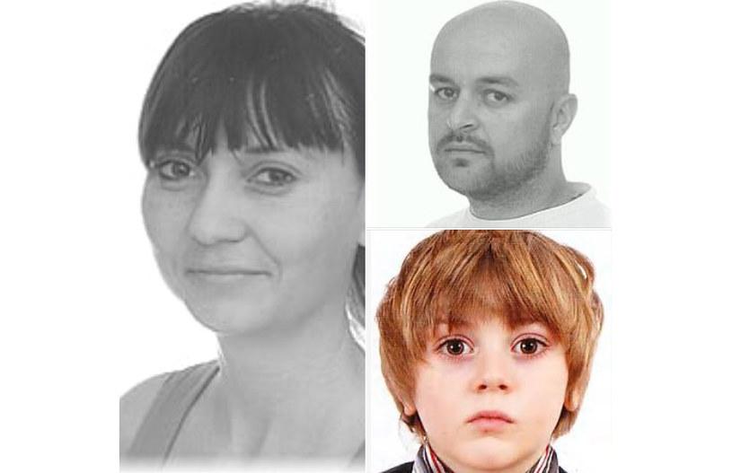 Trwają poszukiwania małżeństwa z dzieckiem /Policja