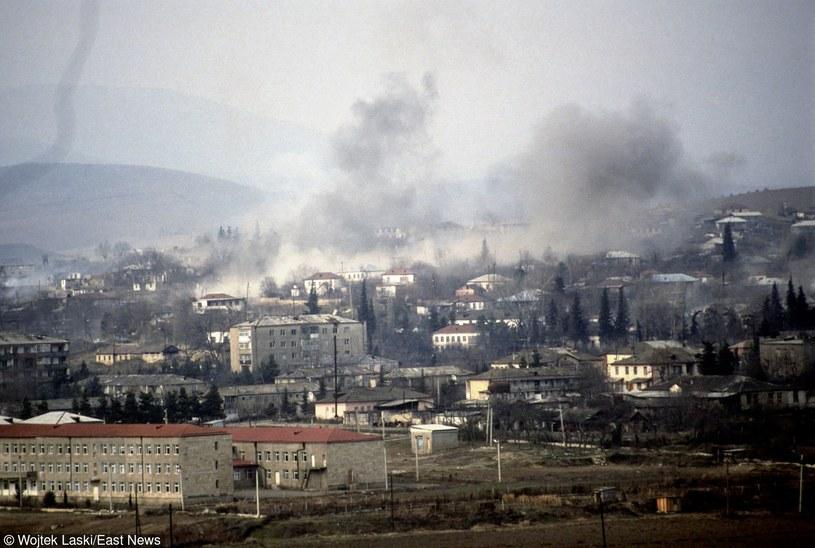 Trwają walki o Górski Karabach /Wojtek Laski /East News