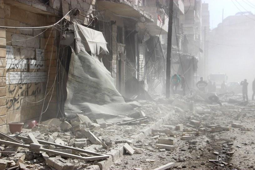 Trwający niemal pięć lat konflikt zbrojny w Syrii spowodował ponad 260 tys. ofiar śmiertelnych /Getty Images