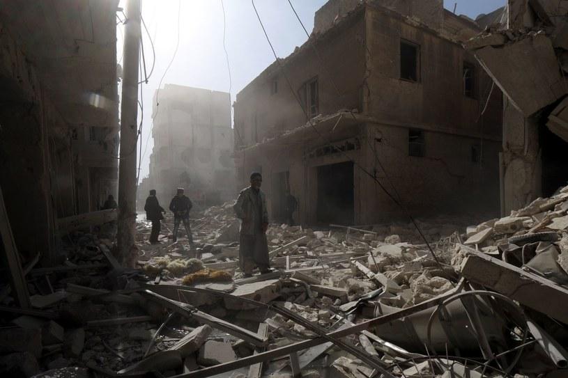 Trwający od marca 2011 roku zbrojny konflikt reżimu Asada z opozycją spowodował już śmierć ponad 210 tys. ludzi. /AFP