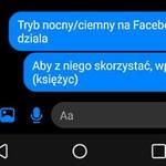 Tryb ciemny (nocny) w Facebook Messengerze - jak go uruchomić?