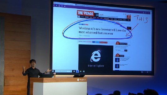 Tryb robienia notatek - nowa funkcja w nowej przeglądarce internetowej Microsoft /materiały prasowe