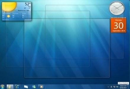 Tryb XP będzie dostępny w Windows 7 tylko dla małych i średnich firm /materiały prasowe