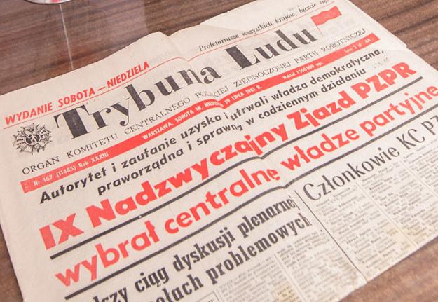 """""""Trybuna Ludu"""" skrytykowała decyzję Józefa Stalina (zdjęcie ilustracyjne) /Krystian Maj /Agencja FORUM"""