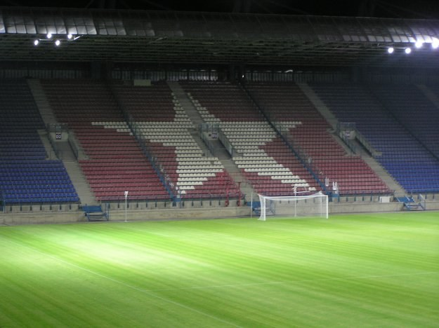 Trybuna północna stadionu Wisły Kraków /INTERIA.PL