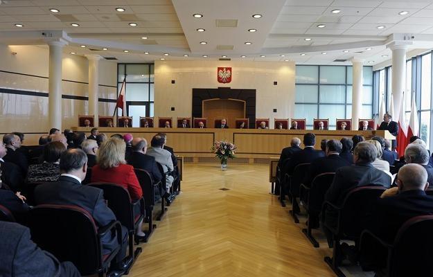 Trybunal Konstytucyjny RP. Fot. JAN BIELECKI /Agencja SE/East News